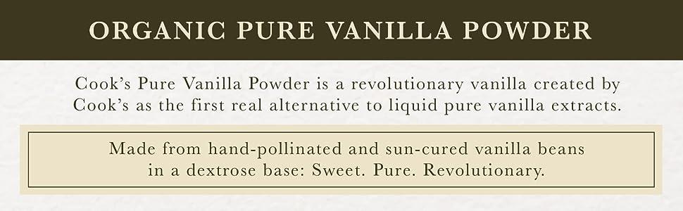 Organic Pure Vanilla Powder