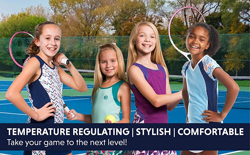 Temperature Regulating. Stylish. Comfortable. Take your game to the next level!
