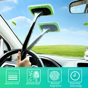 Fast and Easy to Cleaning Auto Windshield Dust