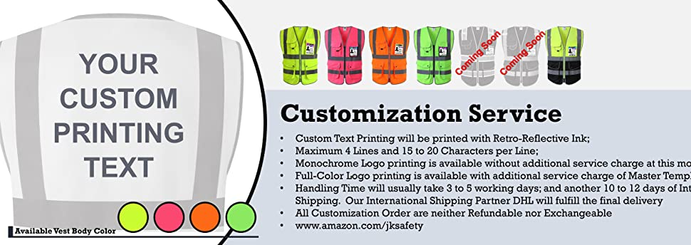 EBC-JKSafety Customization