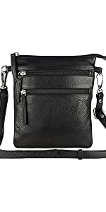 Small Leather Crossbody Bag for Women-Premium Over the Shoulder Purses For Womens By Mou Meraki