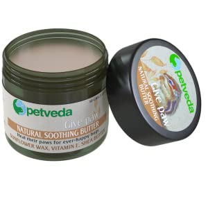 paw balm soothing butter cream paws nose elbows