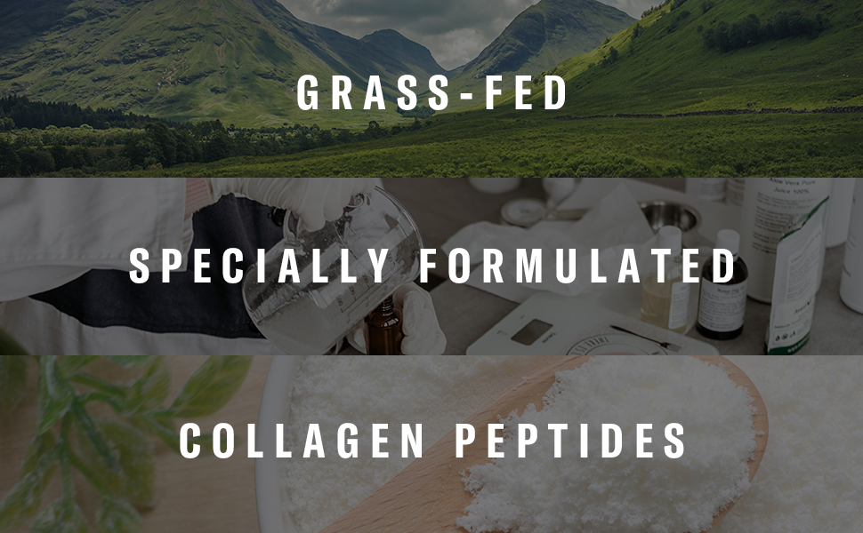 Grass-fed, Specially Formulated, Collagen Peptides