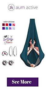 yoga swing aerial yoga hammock arial ariel silks yoga sling inverted inversion antigravity back pain