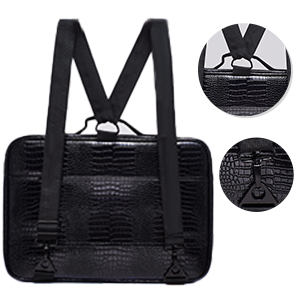Travel Makeup Train Case with Dividers Makeup Organizer Bag Portable Cosmetic Storage Cases