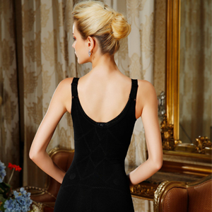 AOQUSSQOA Mujer Shapewear Faja Reductora Abdomen con Gancho Adelgazantes Elástico de Alta Body Shape