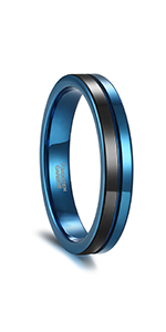 4mm Tungsten Rings