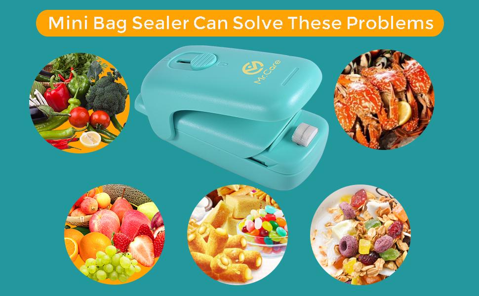 mini food bag sealer handheld