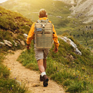 Large capacity backpack for adventure