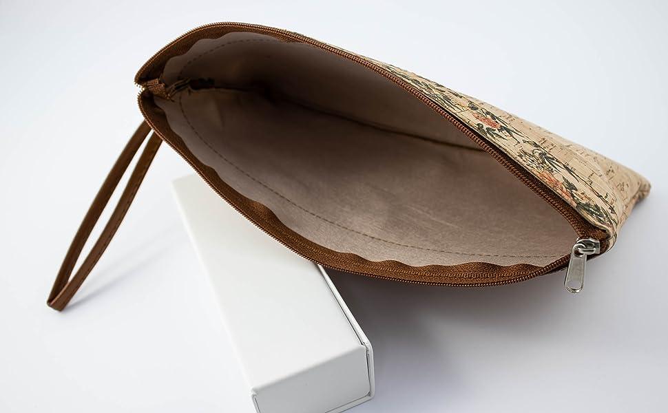 SFY Bolso porta todo de corcho natural fabricado a mano en España ...