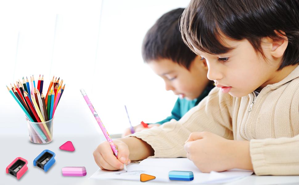 Small Plastic Pencil Sharpener For Children
