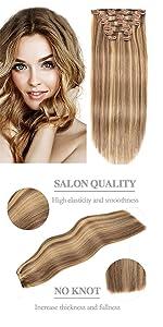 clip on hair extensions human hair
