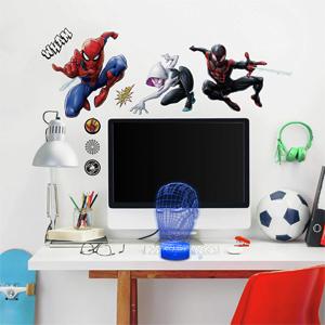 Details about  /Iron Man 3D Illusion Smart APP Control 3D Illusion Night Light Bluetooth,Music