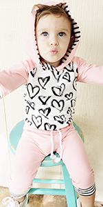 baby girl hoodie outfits