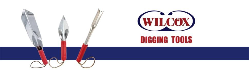 Wilcox All Pro Stainless Steel Garden//Lawn Weeder 13 inch