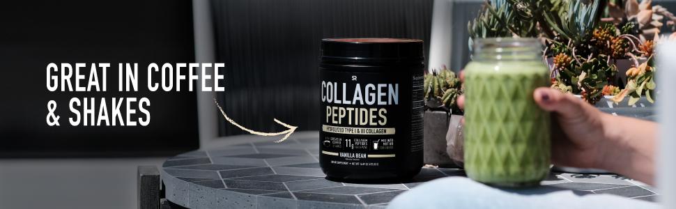 Sports Research Vanilla Hydrolyzed Collagen Peptides