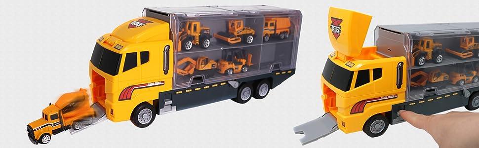construction carrier truck