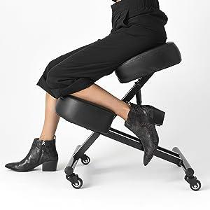 Atlanta Sleekform Best Kneeling Chair