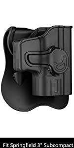 XD Subcompact Holster