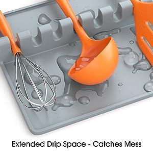 utensil rest for countertop