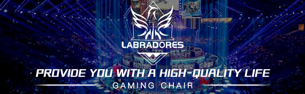 logo of labradores gaming chair