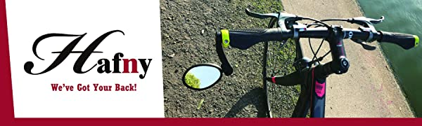 Hafny Bike Mirror, Bar End Bike Mirror, Rearview Bike Mirror, FR04, Bicycle Mirror