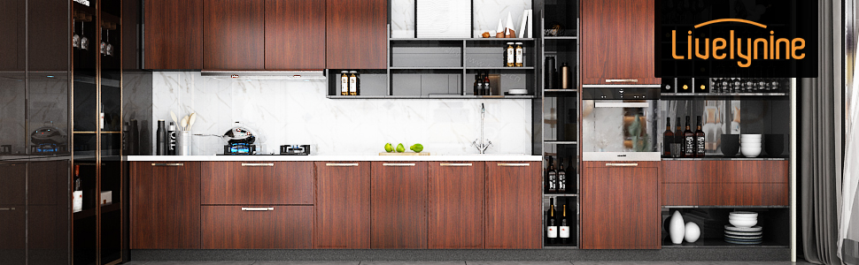 kitchen cabinet contact paper