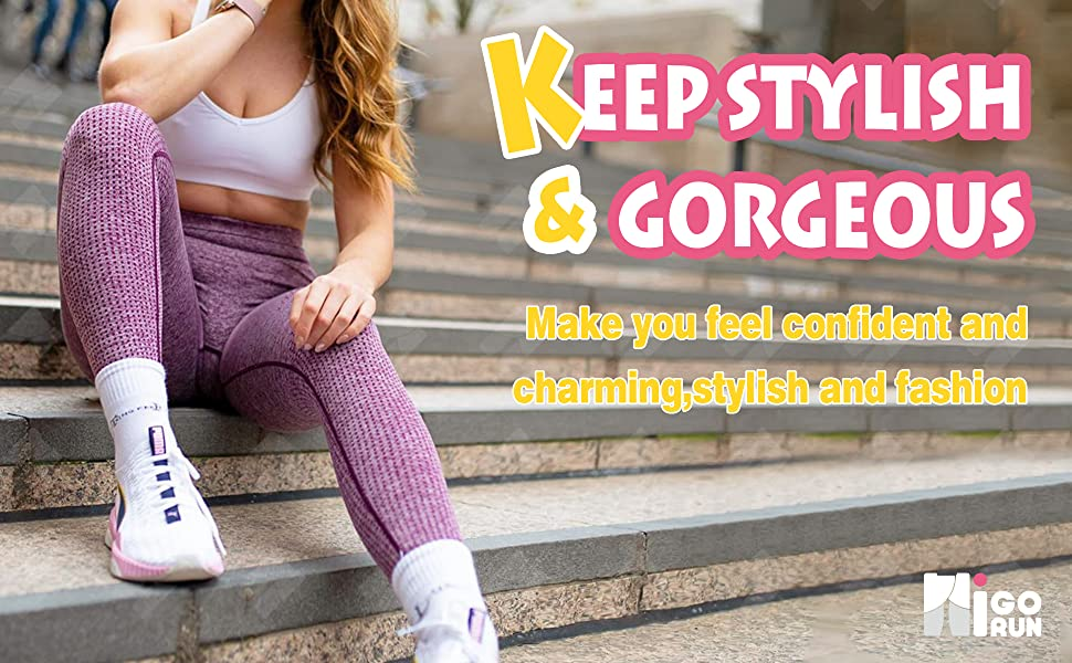 Tummy Control Butt Lift Gym Active Tights…