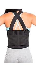 suspender back brace