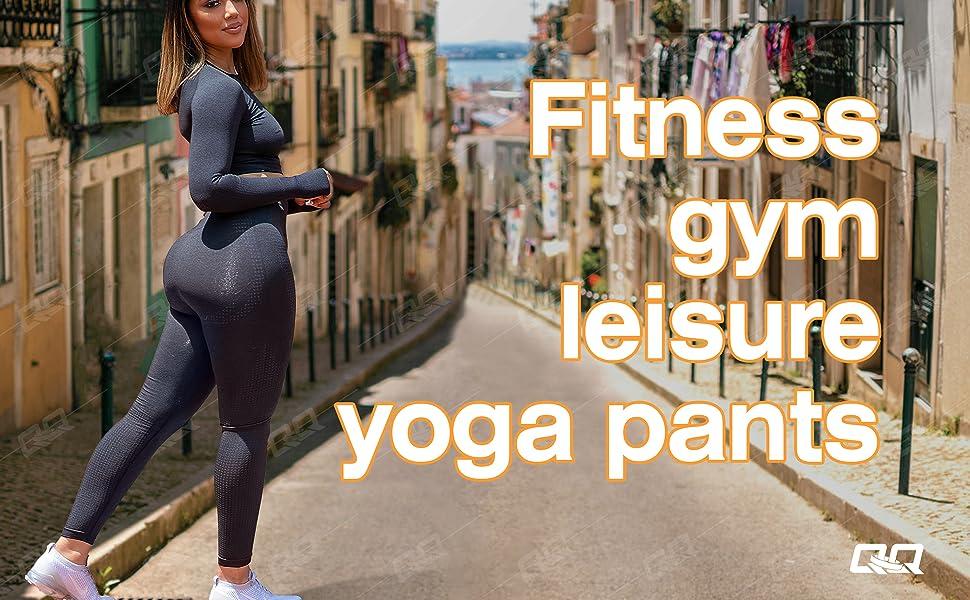 Women's Seamless Leggings High Waist Running Vital Yoga Pants Butt Lift Workout Tights Tummy Control