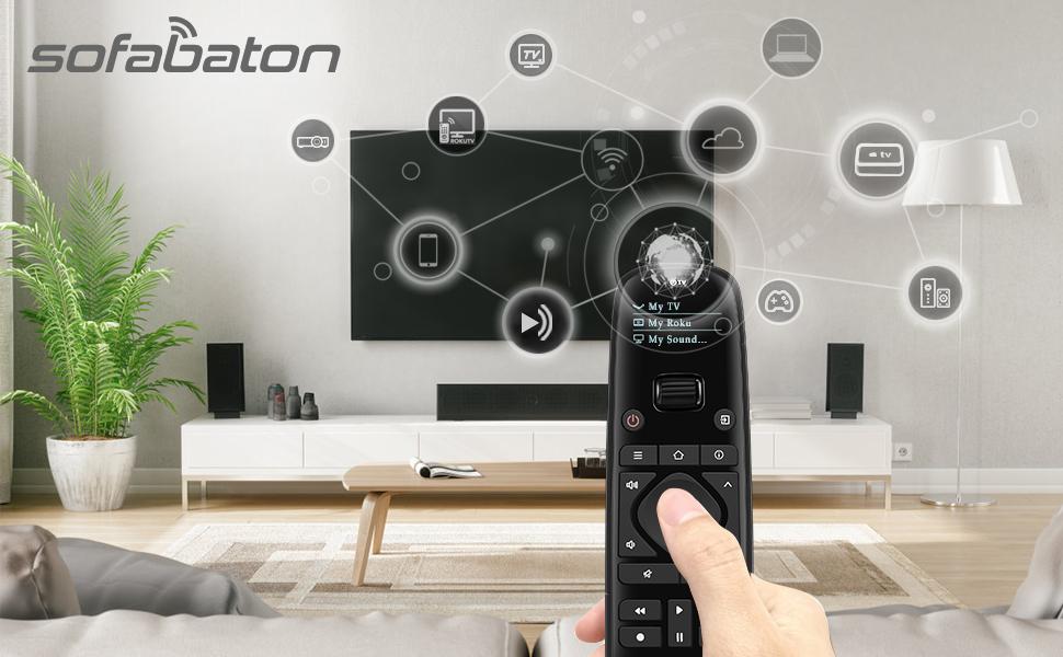 universal remote control fire tv