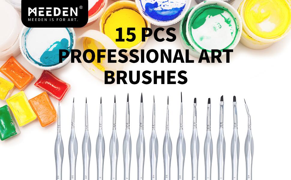tiny professional brushes