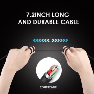 INHANDA long wired gaming headset for nintendo switch