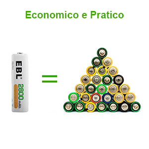 AA Batterie Ricaricabili