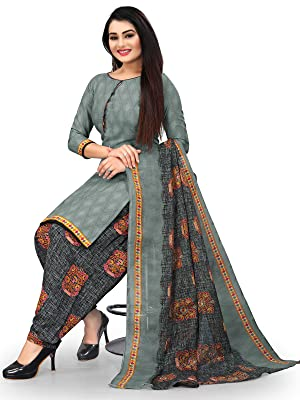 Rajnandini  Cotton Printed Unstitched Salwar Suit Material