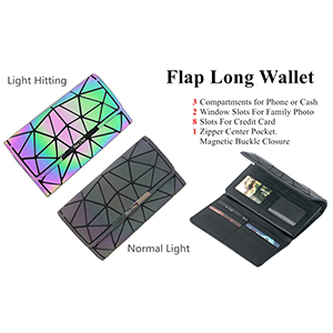 fllapped wallet