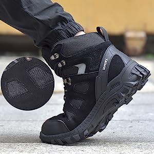 steel toe boots for women