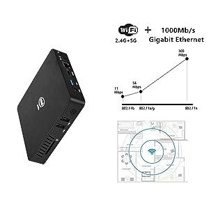 dual band wifi mini pc