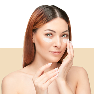 under eye serum using,youthful looking, elasticity,boosts collagen,even skin tone,signs of ageing