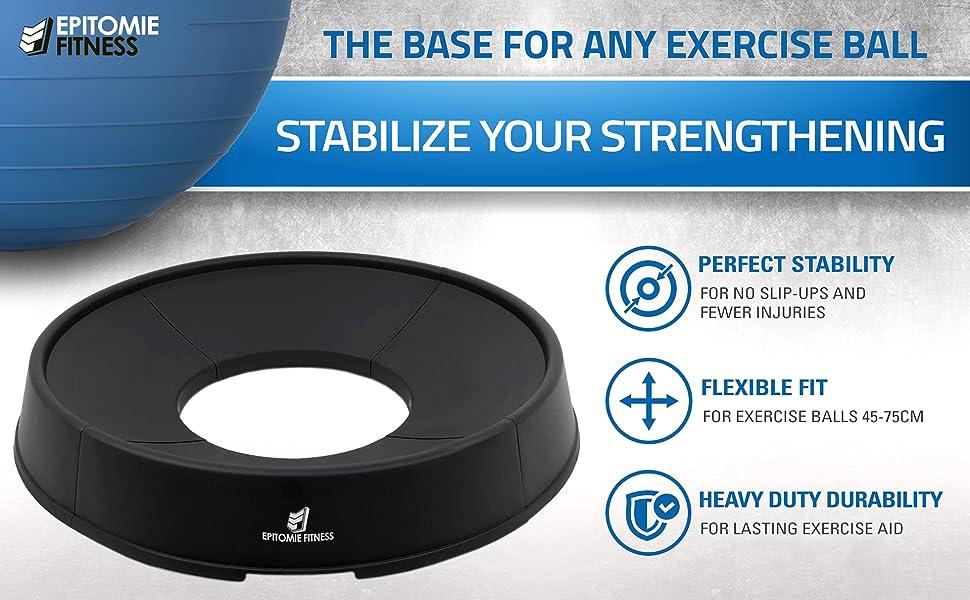 exercise ball base