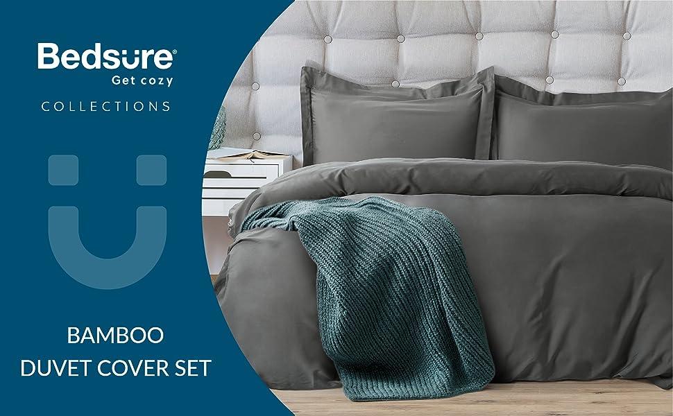 Bamboo Duvet Cover Set