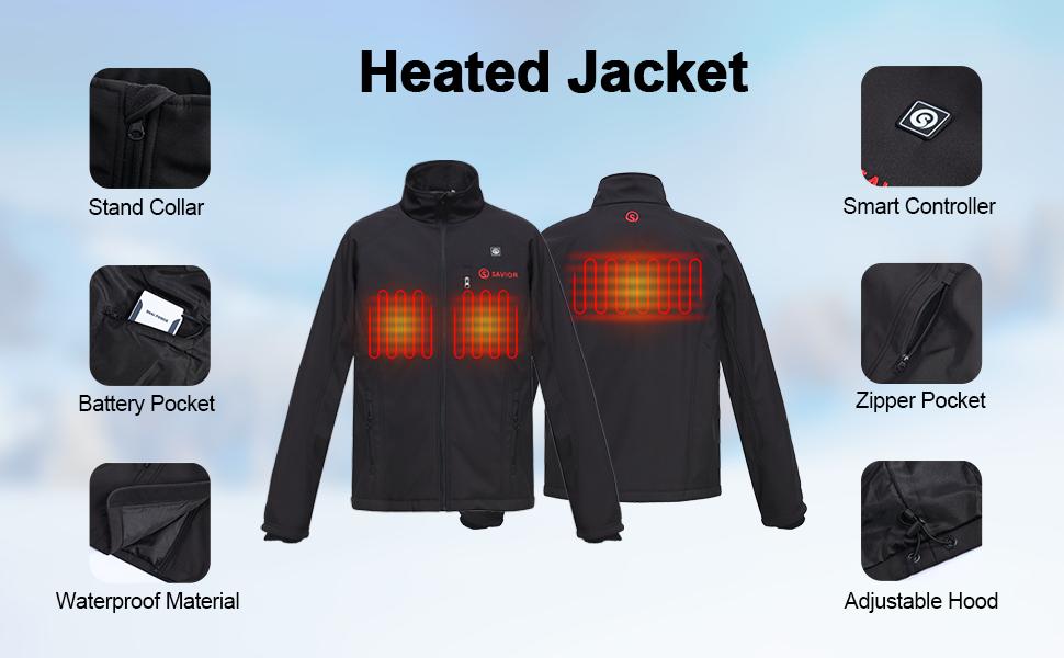 savior heated jacket