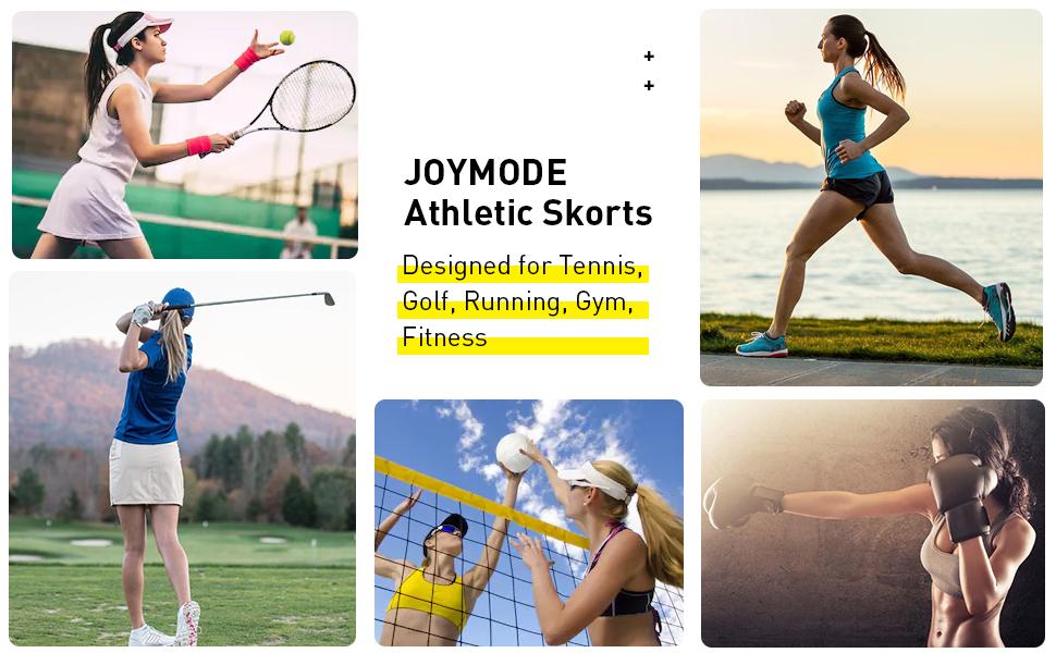 tennis skorts for women high waisted tummy control short skorts a-line dress athletic skorts