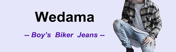 jeans boys distressed ripped skinny fit stretch elastic moto biker slim destroyed fashion denim pant