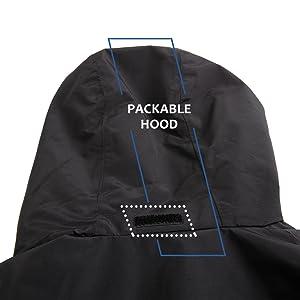 packable hood