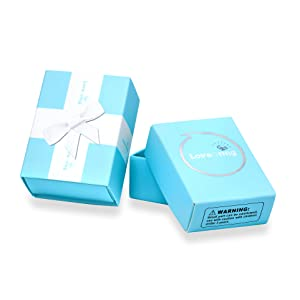 Our Beautiful Blue Present Gift Box with A Hoop