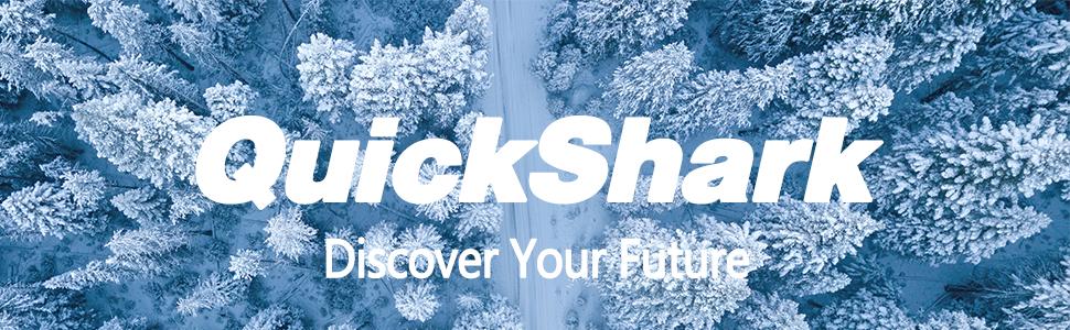 QuickShark Mens Winter Waterproof Snow Boots
