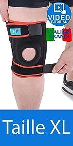 genouillère rotulienne et ligamentaire XL