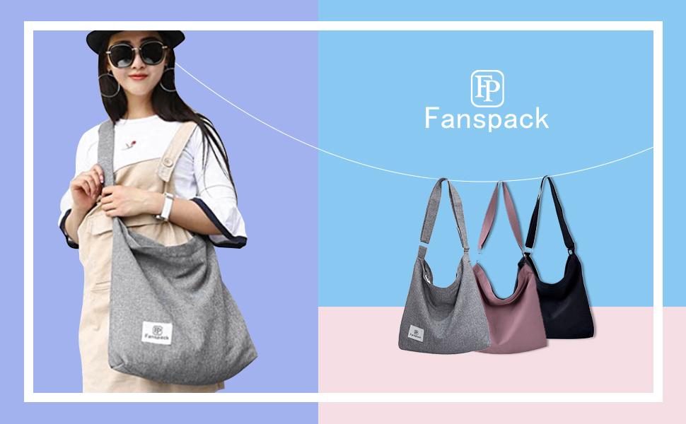 Youre Beautiful Logo Womens Canvas Hobo Handbags Shoulder Bag Tote Bag