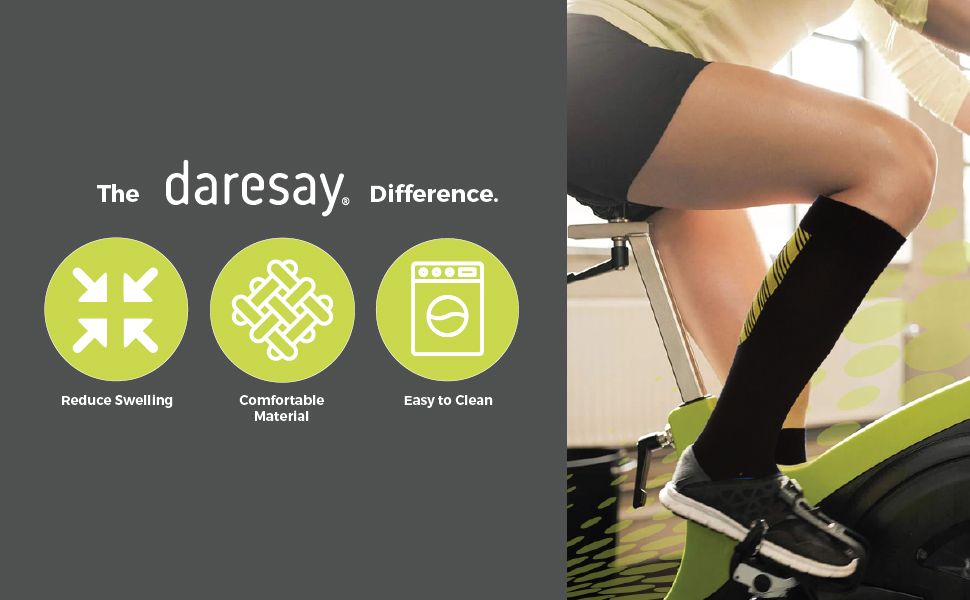 the daresay difference reduces swelling comfortable material easy to clean